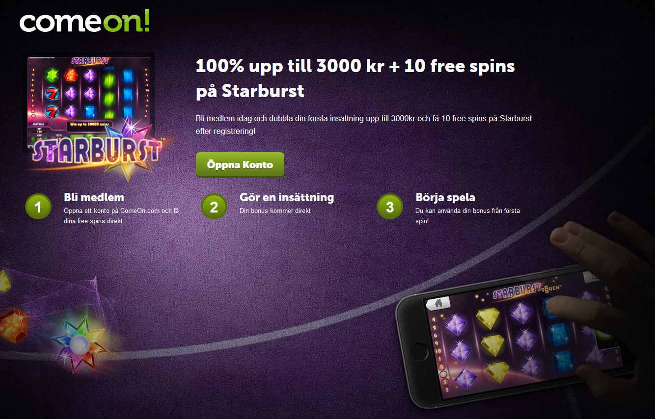 casino comeon.com