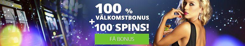 Slotsmoon nätcasino 20 free spins på första insättning