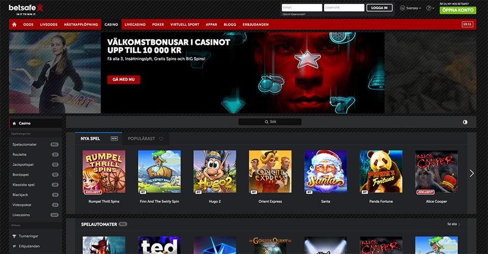Gratis Casino Bonus Utan Insättning | 4.000 kr BONUS | Casino.com