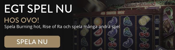 Ovo Nätcasino spelautomater och slots