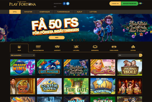 Play Fortuna Nätcasino