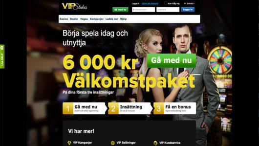 VIP Stakes Nätcasino
