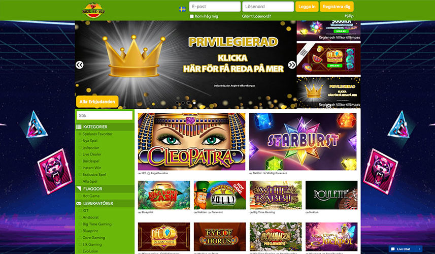 slot fruity nätcasino