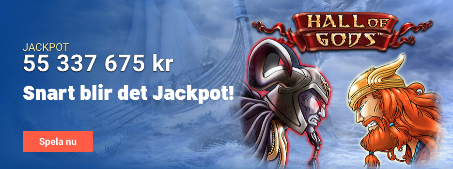LeoVegas Nätcasino erbjuder Jackpott spel - Progressiva jackpot slots